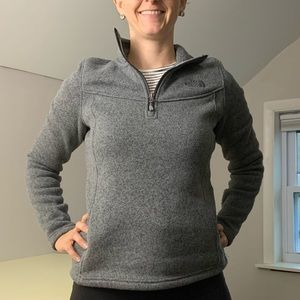 North Face Half-Zip Sweatshirt